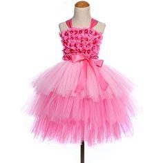Palloni di ballo di ballo bianco del raso per i vestiti da bambina americani