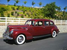 1941 Packard Custom 180 LeBaron Limousine Model 1420
