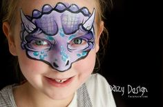 Daizy Design triceratops mask for girls