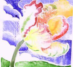 Art and Artists cubit: Printmaking forum: Whiteline Woodcut Print Method