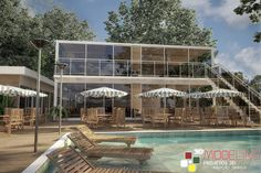 Modelagem 3D - Bar Restaurante