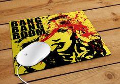 Madonna Bang Bang Boom Mousepad | Aneend