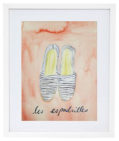 Espadrilles by Virginia Johnson
