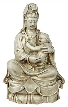 Kuan-Yin with baby, kuan-yin, kuan-yin statues. guan-yin, guan-yin statues, guan-yin with baby, kuan-yin estatuas. the compassionate rebel~