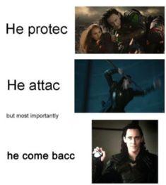 More like he never coming bac