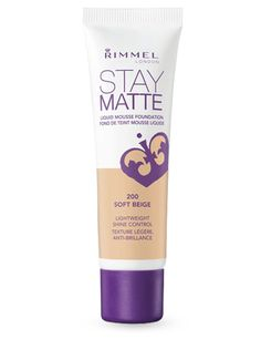 Review: Rimmel Stay Matte Liquid Foundation - The Drugstore Princess