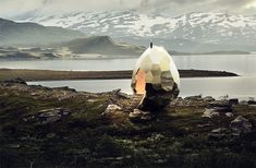 The Swedish 'Solar Egg' Is The Coolest Sauna You Will Ever Lay Eyes On