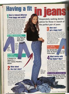 Seventeen Magazine, January 1994 by Look In The Tunk, via Flickr
