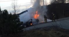 Firefighters Attempt To Extinguish Car Fire... Fail!