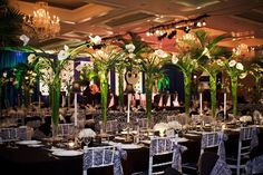 1940s supper clubs decor | Designs handled decor. Service Club Gala Channels 1940s Supper Club ...