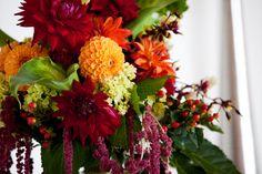 Love those fall tones! and I love my wedding florist!!  www.sassafrasflowers.com