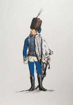 Prussia; 4th Hussars, Officer by Adolph Menzel