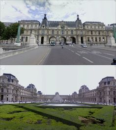 The Louvre! http://faketravel.tumblr.com/post/5898948637/welcome-to-the-louvre