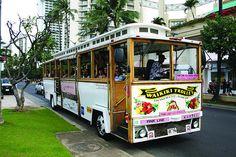 Waikiki Trolley ☼ Top things to do in Oahu, Hawaii: http://www.thewondermap.com/things-to-do-in-oahu-hawaii/