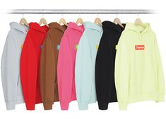 Place a 168 Bid to win the Supreme Re-StockX Supreme Box Logo Hoodie (FW17) Multicolor for Retail on StockX! http://fbuy.me/hTyXK