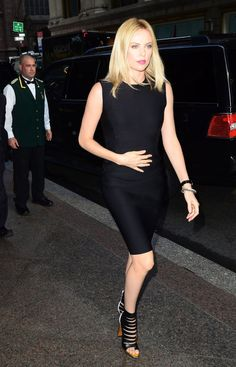 Pin for Later: Celebrate Charlize Theron's Birthday With Her Best Looks! Charlize was spotted in NYC, sporting a form-fitted black Lanvin sheath and strappy Christian Louboutin sandals. Charlize Theron Style, Christian Louboutin Sandals, Louboutin Shoes, Bollywood, Atomic Blonde, Celebs, Celebrities, Famous Women, Fashion Pictures