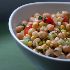 Chickpea Salad | Fit Pregnancy