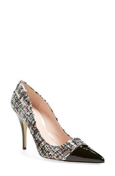 kate spade new york 'lacy' pointy toe pump (Women) available at #Nordstrom