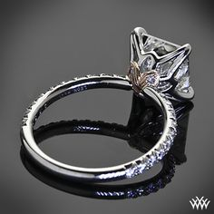 Lotus Princess Diamond Ring by Leon Mege.. this setting as absolutely stunning.. the diamond is amazing.. perfect!