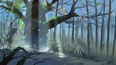 The lost woods by ani-r.deviantart.com on @deviantART