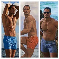 #DavidGandy - #GandyforAutograph swimwear by @marianovivanco | #MarksAndSpencer @larrykinghair I have no words. Perfect indeed ;) source: VF Spain