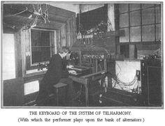 THE  TELHARMONIUM:  ELECTRICITY'S  ALLIANCE  WITH  MUSIC