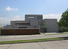 This home by Gonzalo Mardones Viviani is a design that blends Mediterranean terraces with monolithic structures. The outside is not just a plain deck but an array of architectural glory.