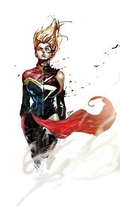 Dexter Soy's Captain Marvel/Ms. Marvel