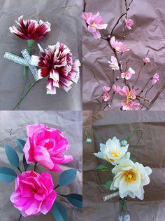 paper flowers!!!