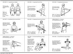 physiotherapy exercises with theraband for a separated shoulder - Google Search