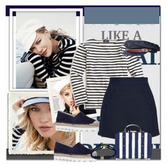 """""""NAUTICAL"""" by nbl1593 ❤ liked on Polyvore featuring Free People, J.Crew, Finders Keepers, Accessorize, Carvela Kurt Geiger and Fallenbrokenstreet"""