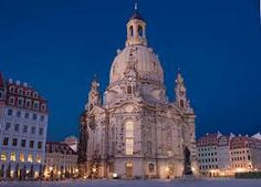 Dresden Cathedral, or the Cathedral of the Holy Trinity, Dresden, previously the Catholic Church of the Royal Court of Saxony, called in German Katholische Hofkirche and since 1980 also known as Kathedrale Sanctissimae Trinitatis, is the Roman Catholic Cathedral of Dresden.  It is located near the Elbe River in the historic center of Dresden, Germany.