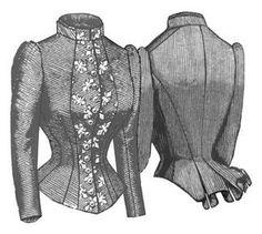 1884 French Vest Bodice Pattern by Truly Victorian, http://www.amazon.com/dp/B002A922WI/ref=cm_sw_r_pi_dp_3m5qqb18B8Y5N