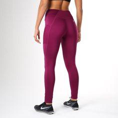 sale retailer b3987 586d3 Gymshark DRY Sculpture Leggings - Plum Workout Attire, Workout Gear, Workout  Pants, Workout