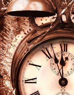 """Buy the royalty-free Stock image """"Vintage old alarm clock in glass closet as sepia"""" online ✓ All image rights included ✓ High resolution picture for pri. Vintage Alarm Clocks, Old Clocks, Antique Clocks, Auld Lang Syne, Father Time, Shabby Chic, Time Clock, New Year Celebration, As Time Goes By"""