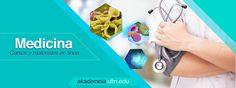 La medicina es la ciencia de la incertidumbre y el arte de la probabilidad.  -William Osler-   Aprende con nosotros temas sobre:  -Física para medicina  -Parasitología  -Biología molecular -Escala de temperatura -Aplicación de porcentajes  -Óptica geométrica  -Ácidos y bases -Química  -Cinemática -Farmacología  -Microbiología  -Química para medicina -Leyes de Newton  -Matemática para medicina   ¡Visítanos! 💉💊 💻 ➡️ http://akademeia.ufm.edu/home/?page_id=6&find=&category=17