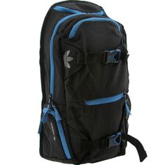 364d5799be27 Adidas Originals Skate Backpack in black and blue.  49.99 Skate Backpack