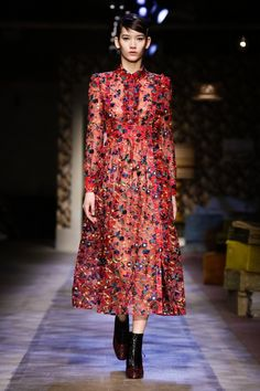 The Best of London Fashion Week Fall 2015 - Erdem Fall 2015