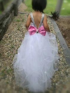 Check out this item in my Etsy shop https://www.etsy.com/au/listing/481340567/stunning-white-or-ivory-flowergirl-dress
