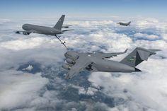 KC-46 refuels C-17
