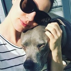This doggie gives me such love vibes! Always lifts my spirit. #unconditionallove #mydog❤ Alona Tal, Unconditional Love, Give It To Me, Glasses, Instagram Posts, Spirit, Eyewear, Eyeglasses, Eye Glasses