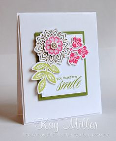 My Joyful Moments blog Muse Challenge using Stampin' Up Stamps