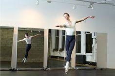 studio setup dance studio townhouse mirrors dance workshop forward