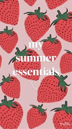 my  summer essentials!