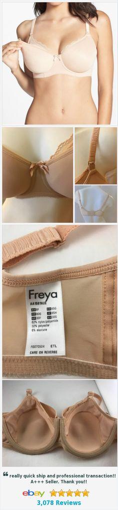 Freya Pure Underwire Spacer Foam Nursing bra 30G US (30F UK)  | eBay http://www.ebay.com/itm/-/142313345514?ssPageName=STRK:MESE:IT