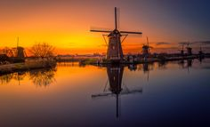 Windmills of Holland by Remo  Scarfò - Photo 208922335 / 500px