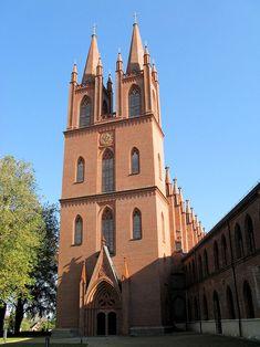 Der berühmte Doppelturm der Klosterkirche Dobbertin Foto: Niteshift / CC BY-SA 3.0 #meckpomm #mecklenburg #kultur #kloster #kirche #sakralbau