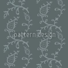 Cinderella Grey by Martina Stadler available as a vector file on patterndesigns.com