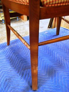 How to Repair Wood Furniture That Has Been Chewed By a Pet : How-To : DIY Network