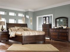Ashley Furniture Bedroom Furniture   Rowley Creek Queen Bedroom   ashley furniture   Home   Bedroom   Bedroom Sets   Ashley Furniture    Porter Queen. Expensive Bedroom Sets. Home Design Ideas